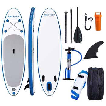 7. ANCHEER Inflatable Stand up Paddle Board