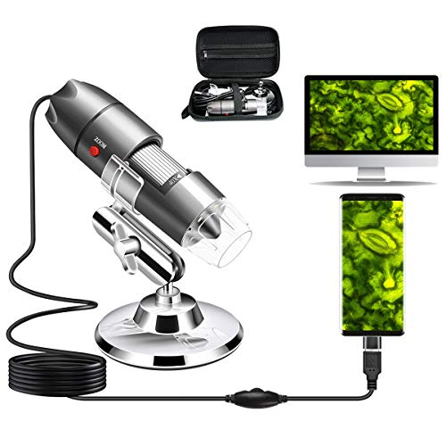 Cainda USB Smartphone Microscope Camera 40X to 1000X